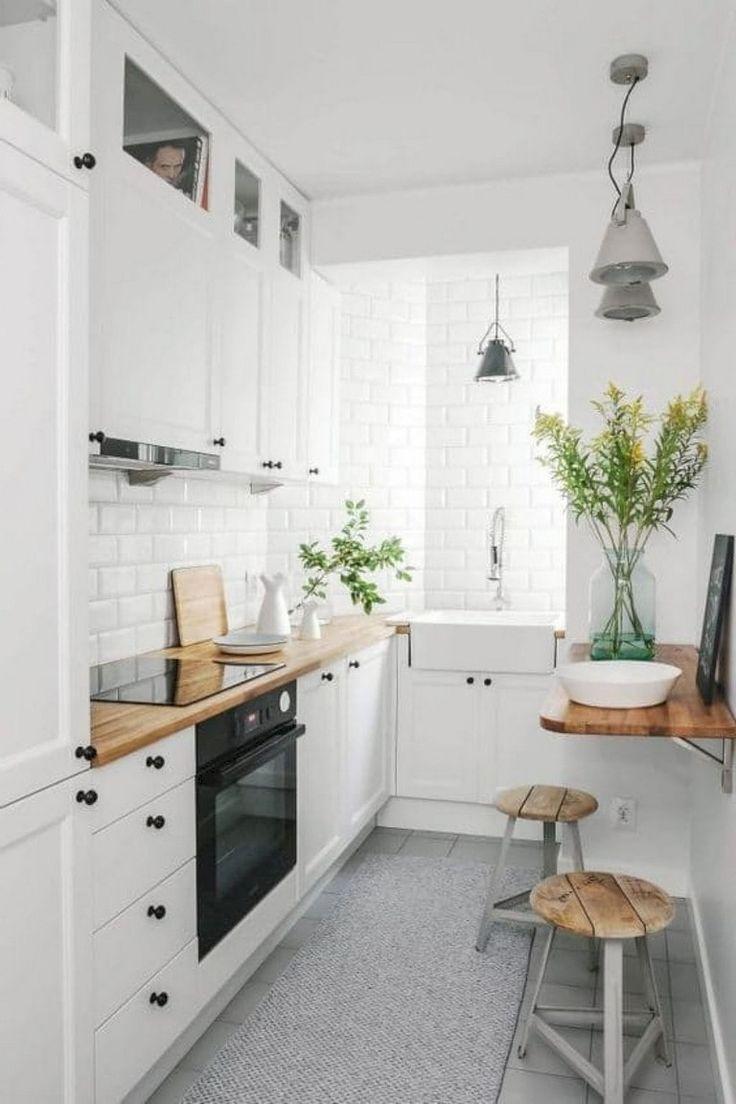 40 wunderbare kleine apartment küche umgestalten ideen