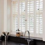 Trendy Kitchen Window Shutters Over Sink Ideas