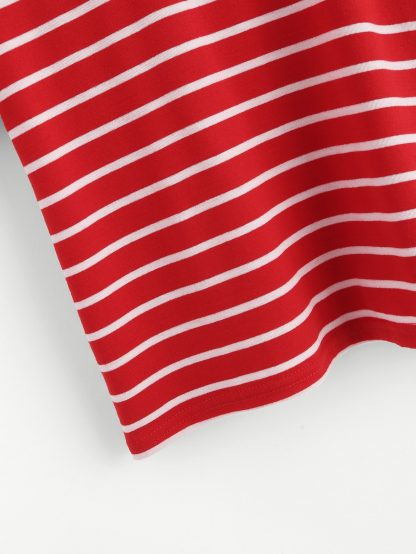 Striped Ringer Tee